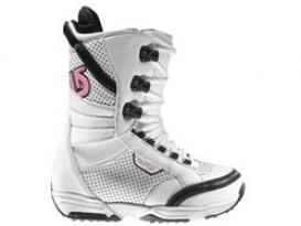 Ботинки для Сноуборда Жен. Burton LODI WHT/PINK
