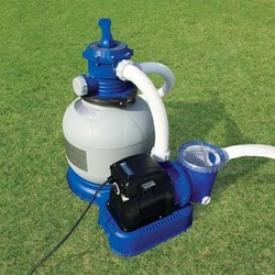 Песочный фильтрующий насос Intex Sand Filter Pump 56674, 5700 л/