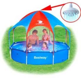 Каркасные бассейны Bestway Splash-in-Shade Play Pool 56193, 244х
