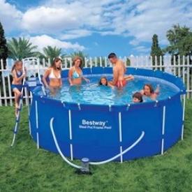 Каркасный бассейн Bestway 56088, 366 см х 122 см.