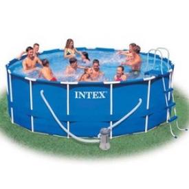 Бассейн каркасный Intex 56946, 457х122см + аксессуары