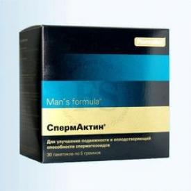 СПЕРМАКТИН Мен'с формула №30