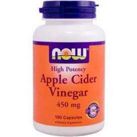Капсулы яблочного уксуса 180 капсул NOW Foods