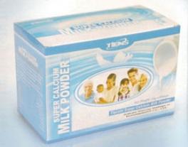 Молочный порошок с содержанием кальция