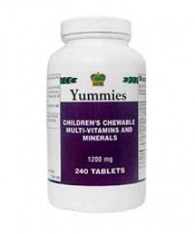 Детские вкусные витамины, (240табл.)