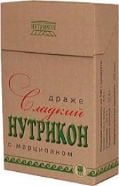 Драже Сладкий нутрикон с марципаном, 100 г