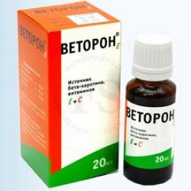 Веторон с витамином Е 20мл