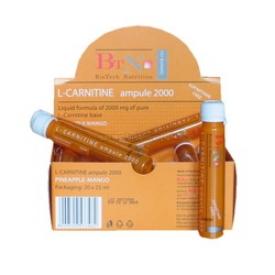 L-Carnitine (20 амп по 2000 мг) (BioTech)