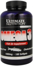 Omega 3 Fish Oil Supplement   180 гел. капс.