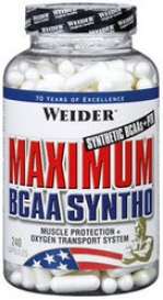 Weider Maximum BCAA Syntho 240 caps