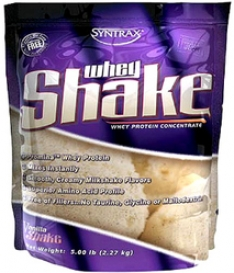 Syntrax Whey Shake - Сывороточный протеин содержит чистейший уль
