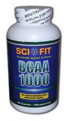 Sci-Fit BCAA 1000, 400 капс.