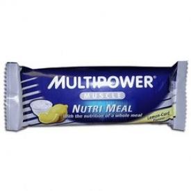 Нутри Мил - Шоколадный батончик (творог-лимон)