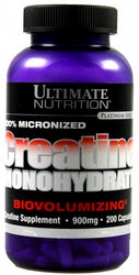 Ultimate Nutrition Creatine Monohydrate (200 caps)