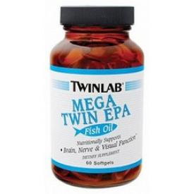Twinlab Mega twinepa 60 softgels