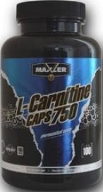 Maxler L-Carnitine Caps 750 100 капс