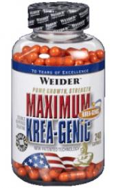 Weider Maximum Krea-Genic - креатин последнего поколения для раз