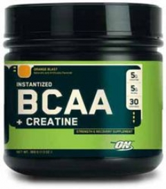 Optimum Nutrition® BCAA + Creatine – Апельсин 740гр