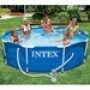 Бассейн каркасный Intex Family Size Metal Frame Pool Set 56996